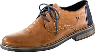 Cognac Dentelle Chaussures Rieker / Marine OUE54dGm2