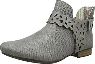 Sofie Schnoor Suede Ancle Boot - Botas de Caño bajo de Cuero Mujer, Color Gris, Talla 40