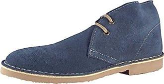 Roamer Damen Desert Boots, Blau - Denim-Blau - Größe: 36.5