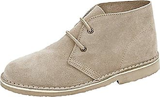 Clarks Damen Desert Boot, Beige (Natural Canvas), 41.5 EU