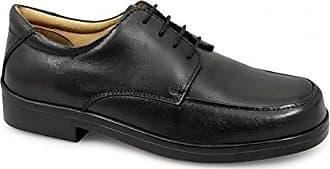 Herren Schnürhalbschuhe, Schwarz - schwarz - Größe: 47 Roamer