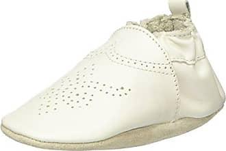 Robeez Pretty Girl Zapatos de Bebé Bebé-Niños, Blanco (Cassé), 23/24 EU (18-24 Meses)