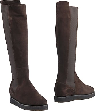 Boots for Women, Booties On Sale in Outlet, Smoke Grey, Leather, 2017, 3.5 Roberto Del Carlo