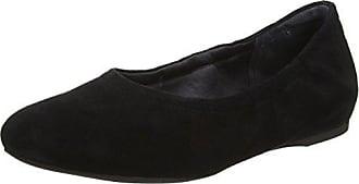 TOTAL MOTION HW20 - Bailarinas de cuero para mujer, color negro, talla 39 Rockport
