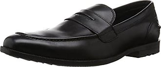 Global Road Venetian, Mocassins Homme, Noir (Black), 42.5 EURockport