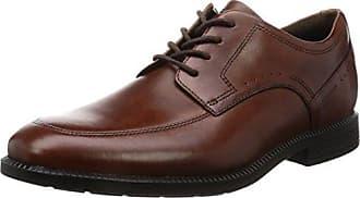 Rockport Dressport Modern Apron Toe - Zapatos Hombre, Braun (New Brown), 44