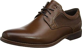 Rockport Tough Bucks Plain Toe Oxford 2, Richelieus Homme, Marron (Tan), 46.5 EU