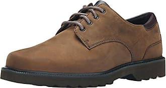 Randle Ubal Lea, Zapatos de Cordones Derby para Hombre, Marrón (Tan), 42 EU Rockport