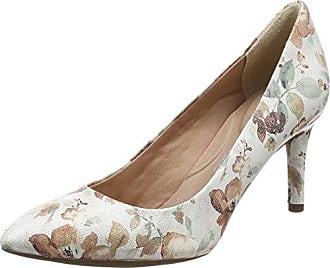 Total Motion Plain Pump, Zapatos de Tacón con Punta Cerrada para Mujer, Varios Colores (Floral), 38 EU Rockport