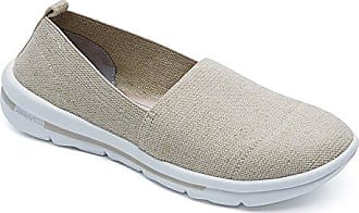 Rockport Women's Rock On Air Plain Slip-On Natural Gore 5.5 M (B) 092DYHG