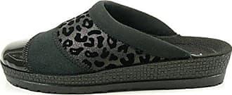Rohde 2305-56 Vaasa-D Schuhe Damen Hausschuhe Pantoffeln Filz Weite G , Schuhgröße:38;Farbe:Blau