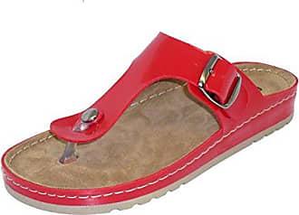 Dian Eva, Damen Clogs & Pantoletten Rot rot 39