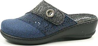 Rohde Schuhe Damen Hausschuhe Pantoffeln Clogs Filz Vaasa-D 2315-72, Schuhgröße:41;Farbe:Braun