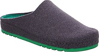 Rohde Riesa Damen Pantoffeln Pantolette 6007 Filz, Größe:D 36;Farbe:Grautöne
