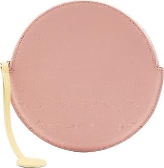 Pochette En Cuir Rond Roksanda Ilincic Rose Réduction Populaire Fufjy