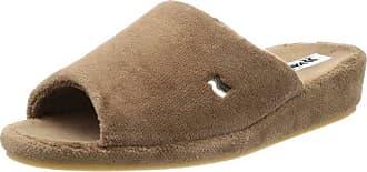 Romika Bologna 72001 - Zapatillas de casa para hombre, color marrón, talla 45
