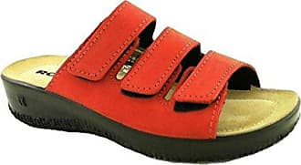 Romika Damen Salina 01 Pantoletten, Rot (Rot 400), 39 EU
