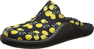 Romika Damen Mokasso 127 Pantoffeln, Mehrfarbig (Schwarz-Multi), 41 EU