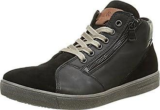 Romika 50006 17 - Zapatillas Altas de Cuero Mujer, Color Negro, Talla 42 EU