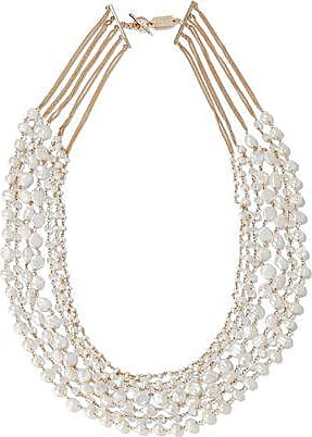 Rosantica Woman Marea Silver-tone, Freshwater Pearl And Bead Necklace Gold Size Rosantica