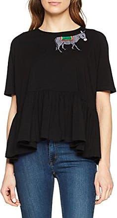 Rosé A Pois Pino, Camiseta para Mujer, Grigio (Grigio Melange), 42