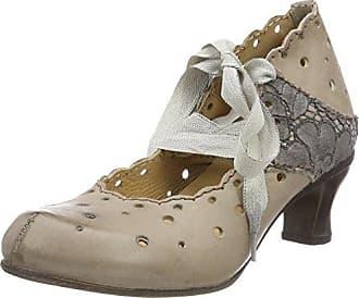 Rovers, Zapatos de Tacón con Punta Cerrada para Mujer, Blanco (Weiß Nieve/Nieve), 39 EU