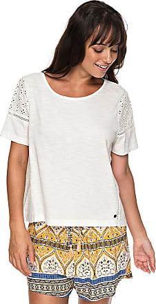 Feelin Moody - T-Shirt für Damen - Weiß Roxy