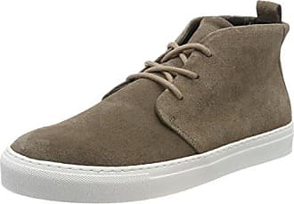 Royal RepubliQ Spartacus Suede Shoe White Outsole, Zapatillas para Hombre, Marfil (Camel 38), 45 EU