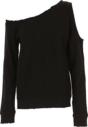 Sweatshirt for Women On Sale, White, Cotton, 2017, 6 8 Rta