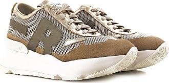 Sneaker für Damen, Tennisschuh, Turnschuh Günstig im Sale, Beige, Wildleder, 2017, 38 40 Ruco Line