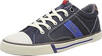 s.Oliver Herren 15202 Hohe Sneaker, Blau (Navy), 43 EU