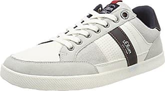 23668, Sneakers Basses Femme, Bleu (Navy Glit.Comb), 42 EUs.Oliver