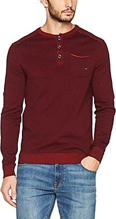 13711214034, Camisa Casual para Hombre, Rojo (Chianti 39N6), S s.Oliver