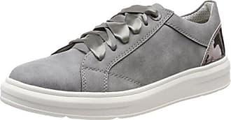 s.Oliver 23627, Zapatillas para Mujer, Gris (Graphite Comb.), 38 EU