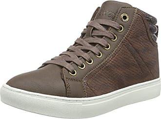 s.Oliver Damen 26207 Hohe Sneaker, Grau (Graphite), 38 EU