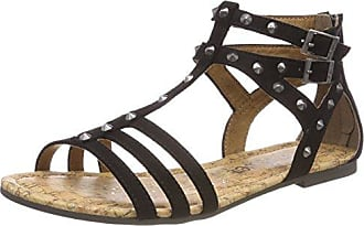 Classy, Sneakers Basses Femme, Noir (Black/White), 38 EUKappa