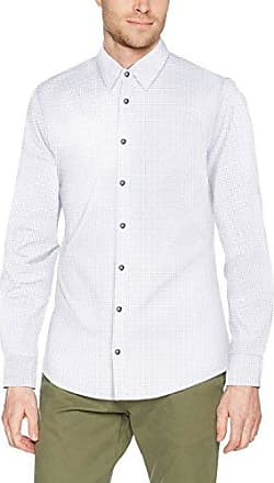02.899.21.4415, Chemise Business Homme, Blanc (White AOP 01A3), X-Large (Taille du Fabricant: 44)s.Oliver Black Label