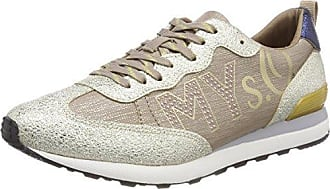 23606, Sneakers Basses Femme, Beige (Champagne Comb.), 39 EUs.Oliver