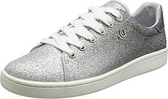 s.Oliver 23624, Zapatillas para Mujer, Plateado (Pewter), 40 EU