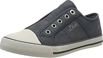 23631, Zapatillas para Mujer, Azul (Denim 802), 43 EU s.Oliver