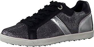 5-23635-20 Damen Sneakers Black Comb, EU 36 s.Oliver