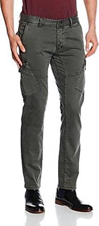 40.609.73.7154, Pantalones para Hombre, Verde, W38L34 Q/S designed by