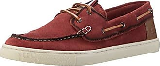 13608, Chaussures Bateau Homme, Rouge (Dark Red 509), 44 EUs.Oliver