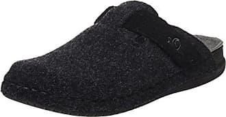 Coolers - Zapatillas de estar por casa para hombre negro Noir - Gris anthracite 10 UK HNG8v6r