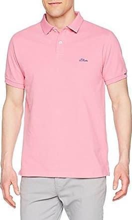 13.803.35.5453, Polo para Hombre, Rojo (Pink 4415), XXL s.Oliver