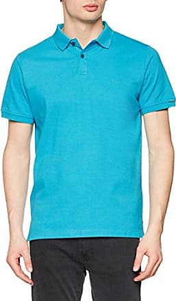 s.Oliver 13704355388, Polo Homme, Bleu (Indigo 58G0), S