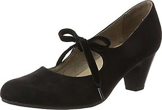Womens 24404 Closed Toe Heels, Graphite s.Oliver