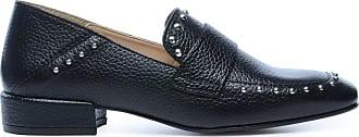 Schwarze Loafer mit Ring (36,37,38,39,40,41,42)