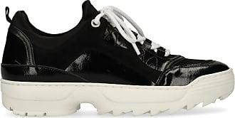 Ockergelbe Dad-Sneaker mit weißer Sohle (36 mwTNC