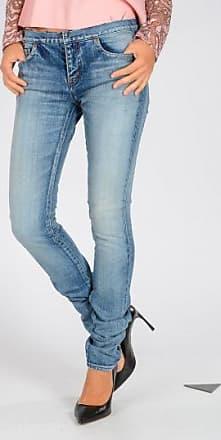 14 CM Stretch Denim Sequined Jeans Fall/winter Saint Laurent yRsHSaP